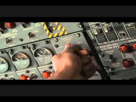 Boeing 727-200 Auxiliary Power Unit (APU) Operation