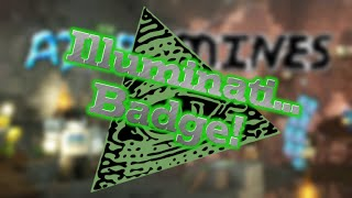 Roblox | Azure Mines | How to Find The illuminati Badge