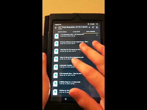 12345678 Amazon Fire HD 8 Basic Tutorial