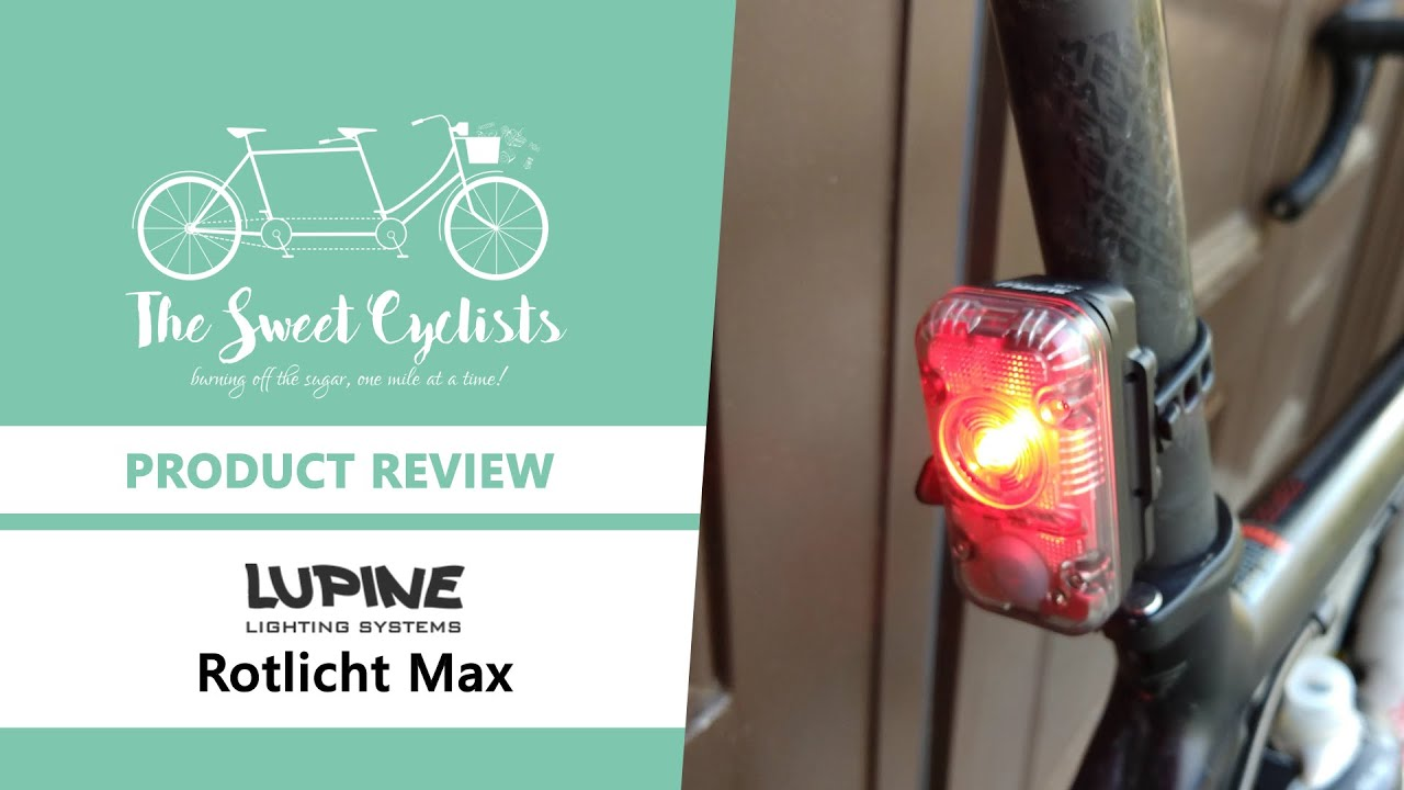 Lupine Lighting Systems Rotlicht MAX Tailight with Brake Sensor
