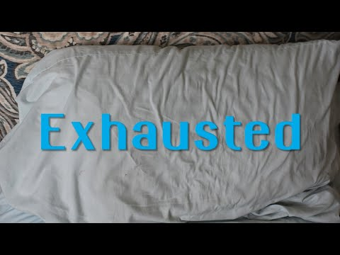 Are you exhausted? It's your Word for Wednesday!