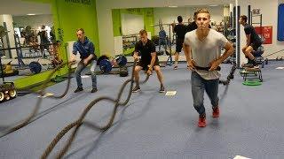 Fanoušci Energie zkusili trénink s týmem a omrkli kabinu. Proč nemakal Skuhravý?
