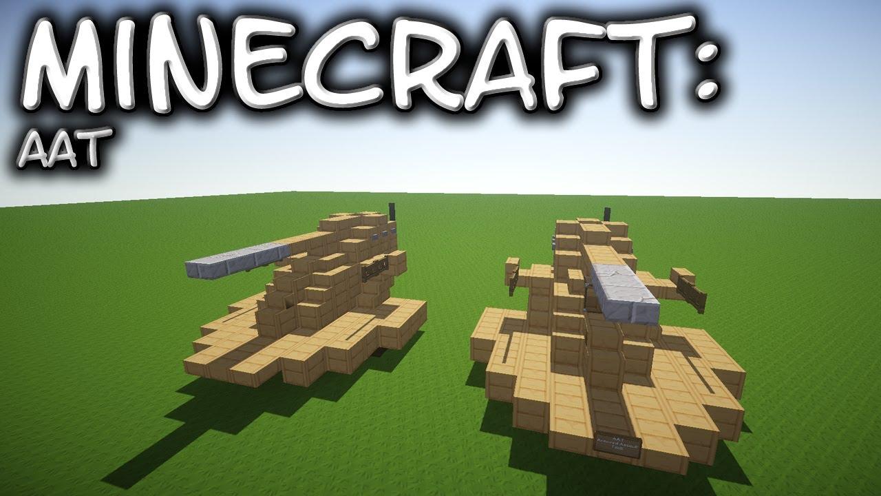 Minecraft: Star Wars: AAT - Armoured Assault Tank Tutorial