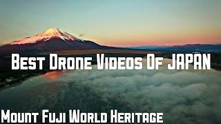 【ドローンで空撮】 日本の宝! 早朝の富士山と雲海の絶景 DJI Phantom3