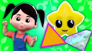 The Shapes Song | Learning Videos For Children by Kids Baby Club
