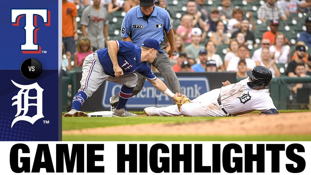 Download Rangers vs. Tigers Game Highlights (7/19/21)   MLB Highlights