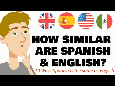 English and Spanish are more similar than what you think!