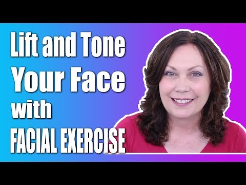 Exercise Along With Me to Exercise Face – Exercise for Face & Exercise Face Muscles | FACEROBICS®