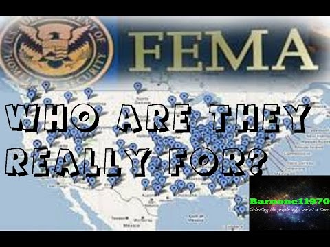 FEMA camps : Who are they REALLY for? You'll be surprised...
