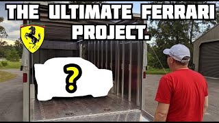 BUYING our Next PROJECT FERRARI and it NEEDS WORK... // The Secret Ferrari Project Unveiled!