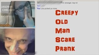 Scary Old Man On Omegle WARNING: Priceless Reactions!