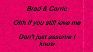 Remind Me - Brad Paisley (Duet with Carrie Underwood) Lyrics Video