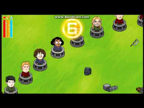 Autokilllz playz the Hunger Games Flash Game