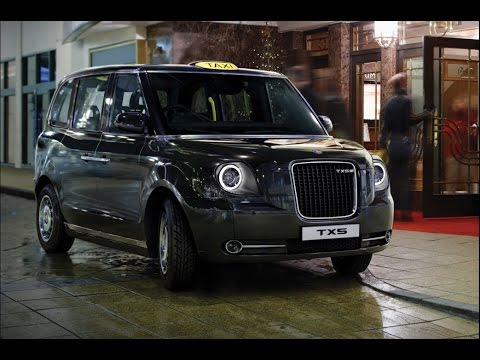 New 2017 London Taxi more details of cleaner TX5 hybrid revealed