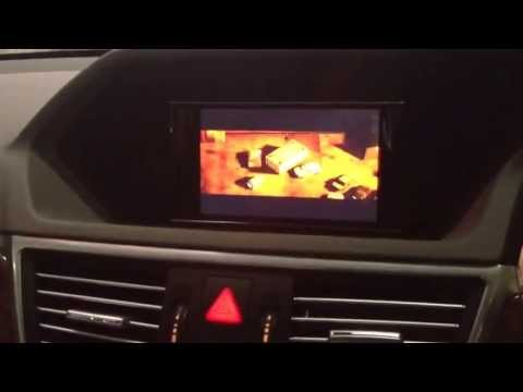 Mercedes Benz E-Class W212 Multimedia Video Interface with HD Player And Rear Camera