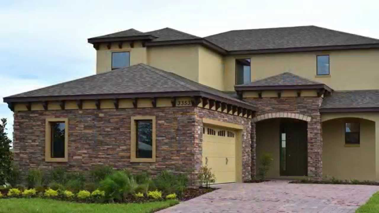 Century Homes Somerset Park At Lake Nona Trevi Youtube