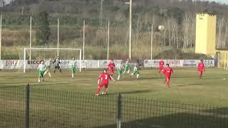 Campionato Terza Categoria 2018/2019 12a giornata: Acciaiolo - Suvereto (sintesi)