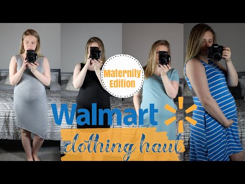 WALMART TRY-ON HAUL| SUMMER MATERNITY EDITION| UNDER $20
