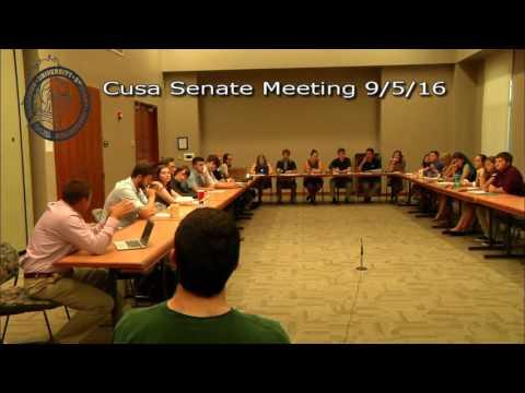 CUSA Senate