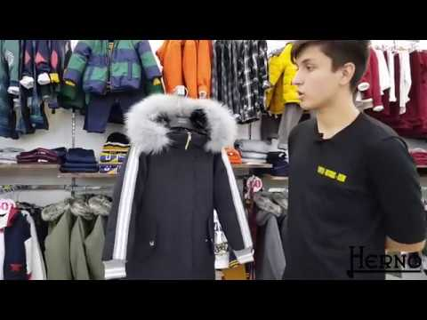 Пальто для девочки (пуховое, зимнее). Итальянский бренд Herno