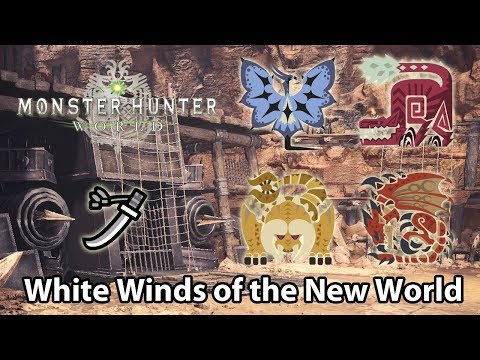 MHWorld | 9★ The White Winds of the New World solo (Long Sword) - 9