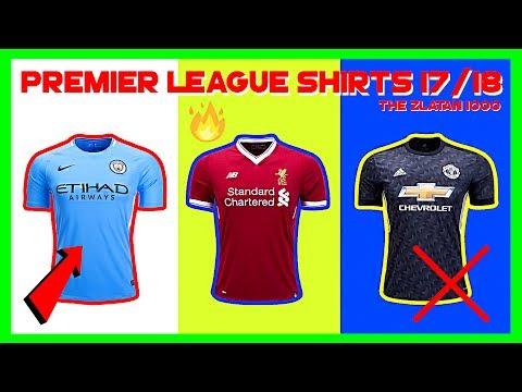 Recension Av Premier Leagues Matchtröjor - 17/18
