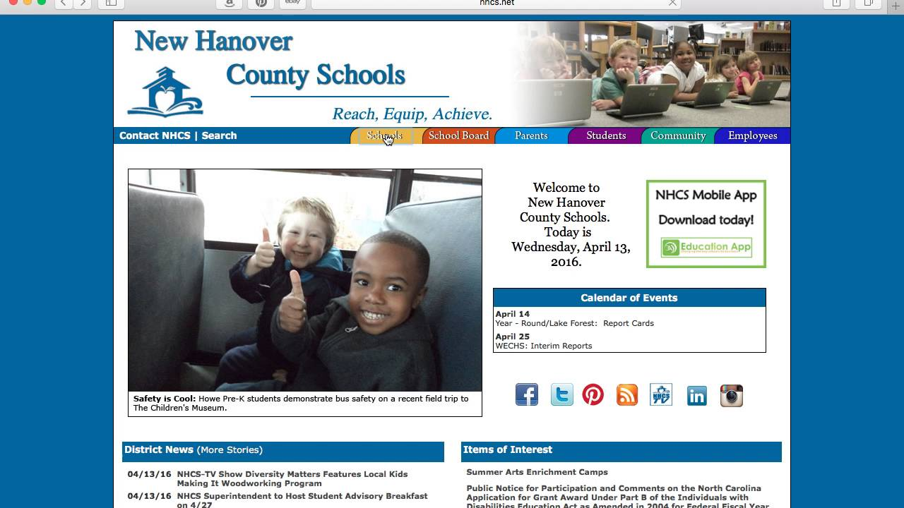 New Hanover County School Calendar.How To Find Your Disctrict School In New Hanover County Nc