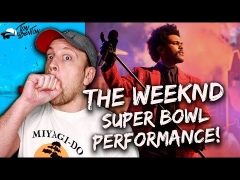 THE WEEKND's Super Bowl Performance was INCREDIBLE!! | REACTION!!!