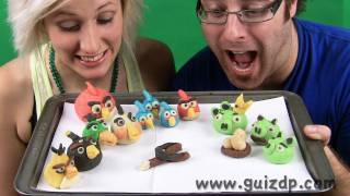 Angry Birds With Almond Paste (howto) -guizdp
