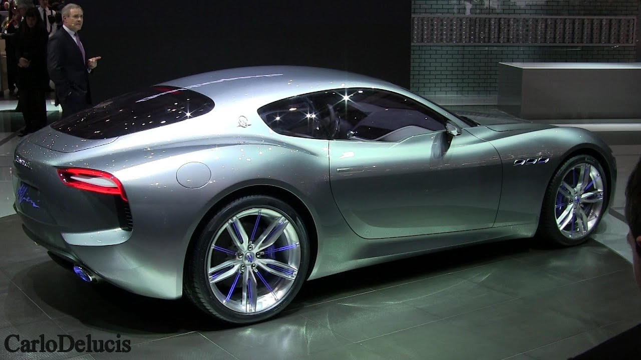 "NEW Maserati GT Concept ""Alfieri"": LIVE PRESENTATION - YouTube"