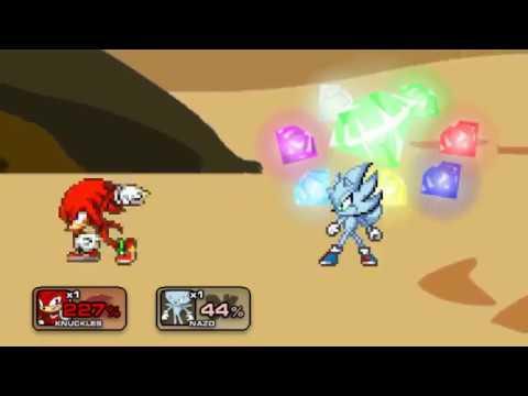 Goku Ultra Instinct vs Hyper Sonic SSF2 MOD   Doovi