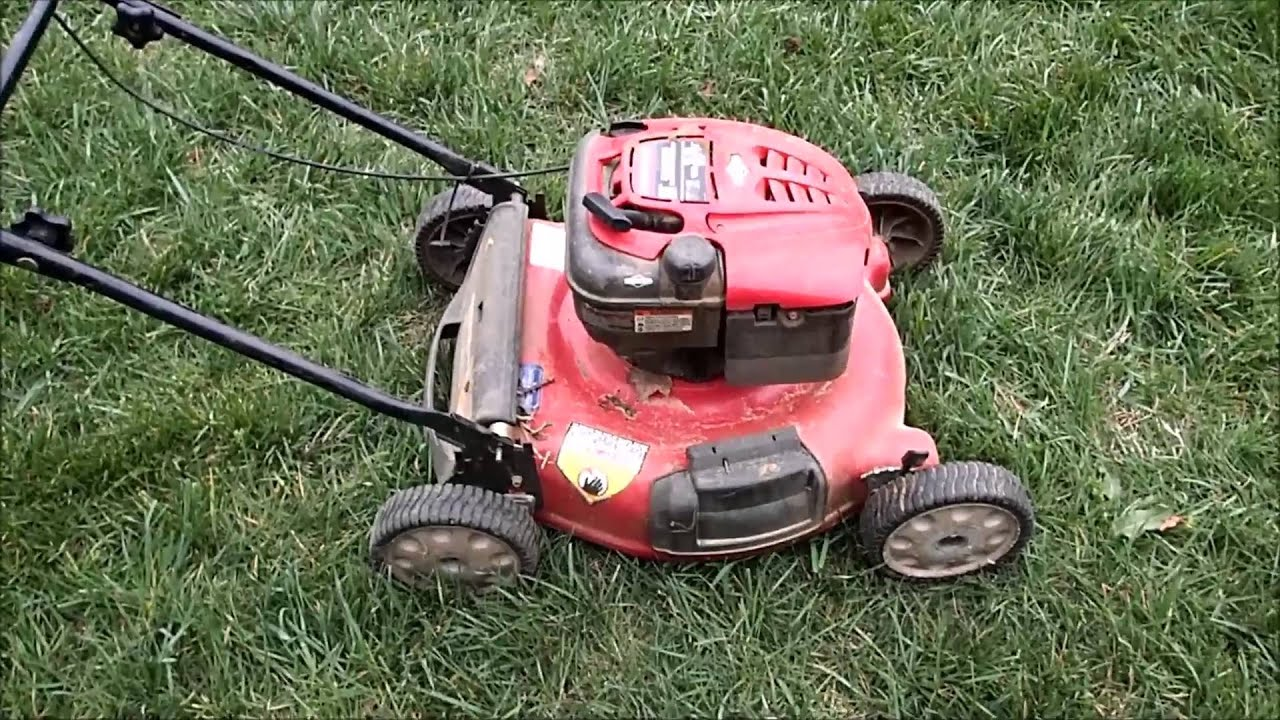 Troy Bilt 675 Series 21 Quot No Oil Seized Engine Push Lawn