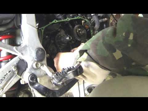 Разборки со сцеплением Honda Transalp xl600v