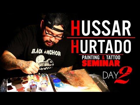 Michael Hussar and Nikko Hurtado Painting and Tattoo Seminar Day 2