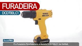 Oferta Imbatível - Parafusadeira/Furadeira (DCD700LC1) + Ponteiras 15 peças (DWAPH2-15)