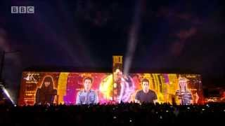 Radio 1's Big Weekend Video Mapping (Calvin Harris)