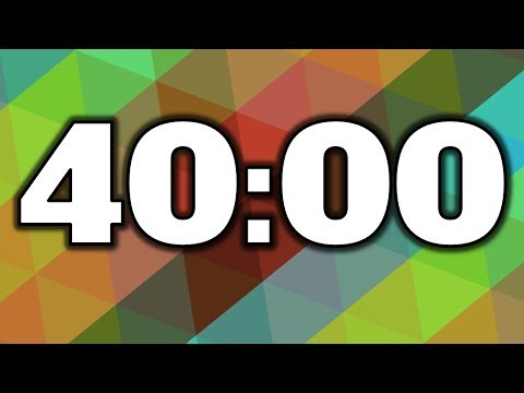 40 Minute Timer