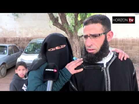 """بالفيديو : شاهد شنو قالت مغربية منقبة و زوجها عن قرار """"منع النقاب في المغرب """"…تصريح غير متوقع !"""