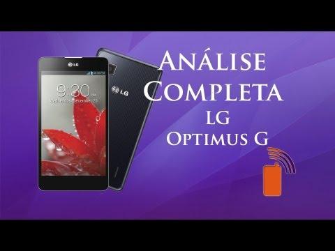 Análise Completa: LG Optimus G