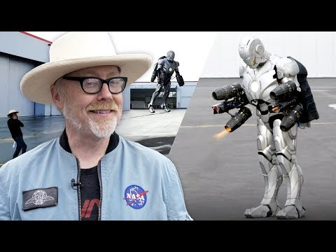 How Adam Savage built a real Iron Man suit that flies