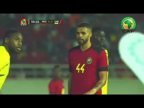 2ªParte do jogo: GUINÉ BISSAU vs MOÇAMBIQUE (Vidéo)