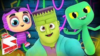 Monster Dance Party | Spooky Songs for Kids | Scary Nursery Rhymes with Super Supremes