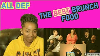 ALL DEF| The Best Brunch Food | Great Taste REACTION | Amazing Grace Daily