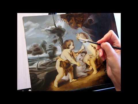 ... . Фламандская техника живописи - YouTube: www.youtube.com/watch?v=U1wdAHUuyOQ