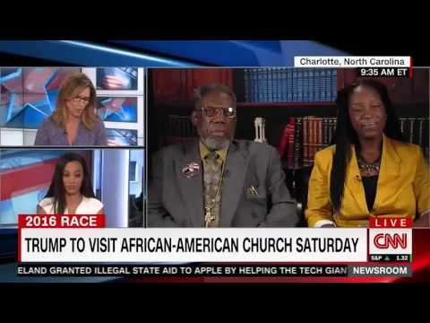CNN's Angela Rye calls out Trump Supporter who suggests a Bridge to Africa