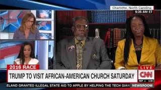 CNN's Angela Rye calls out Trump Supporter who suggests a Bridge to Africa thumbnail