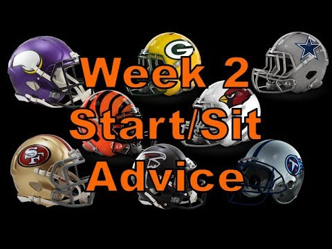 Fantasy Football 2018 Start 'em sit 'em Week-2