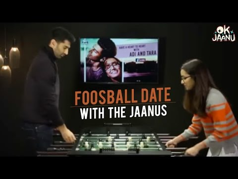 OK Jaanu - Foosball date with Aditya Roy Kapur & Shraddha Kapoor