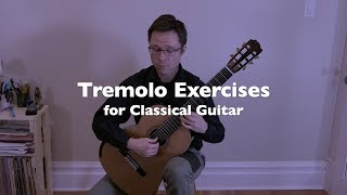 Lesson: Tremolo Exercises for Classical Guitar