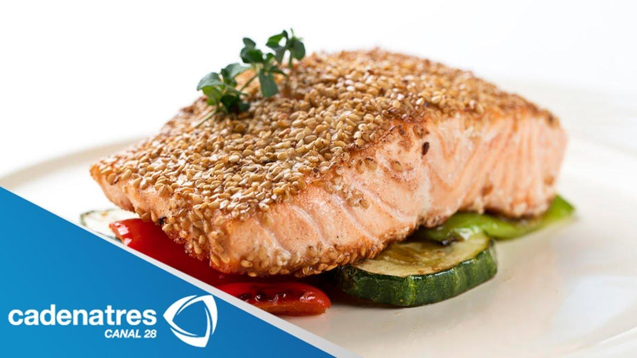 Recetas para cocinar salmon for Como cocinar alubias de bote